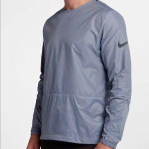 Nike Men's Crew Running Jacket Color Ashen Slate